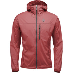 Black Diamond Alpine Start Capuchon Jas Heren, red oxide
